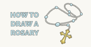 How to Draw a Rosary Featured Image