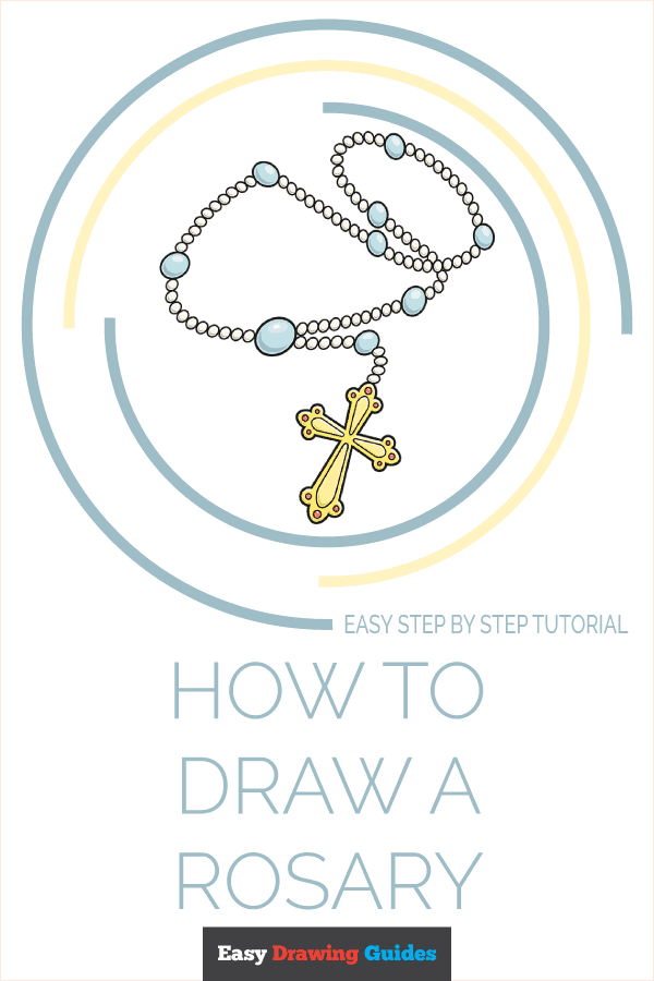 How to Draw Rosary   Share to Pinterest