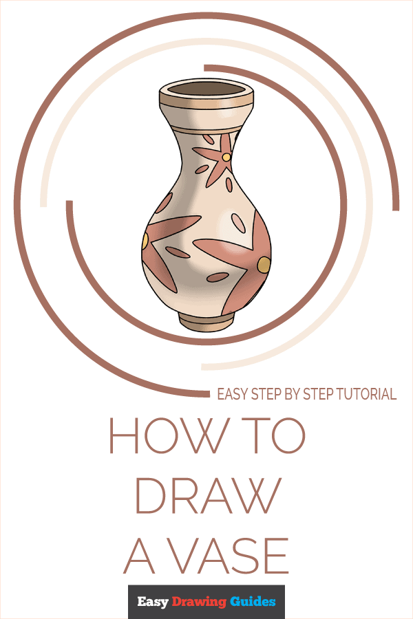 How to Draw Vase | Share to Pinterest