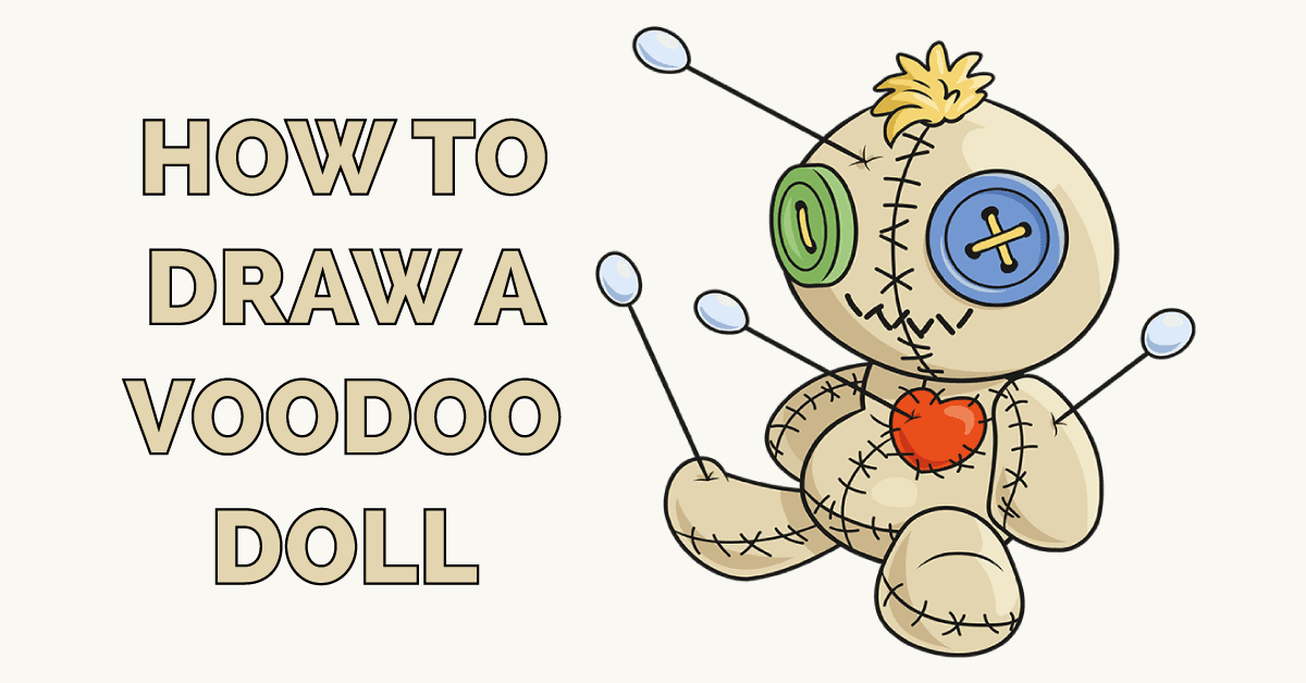 How to Draw a Voodoo Doll Featured Image
