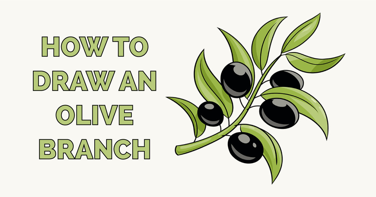 How to Draw an Olive Branch Featured Image