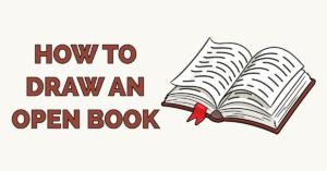 How to Draw an Open Book Featured Image