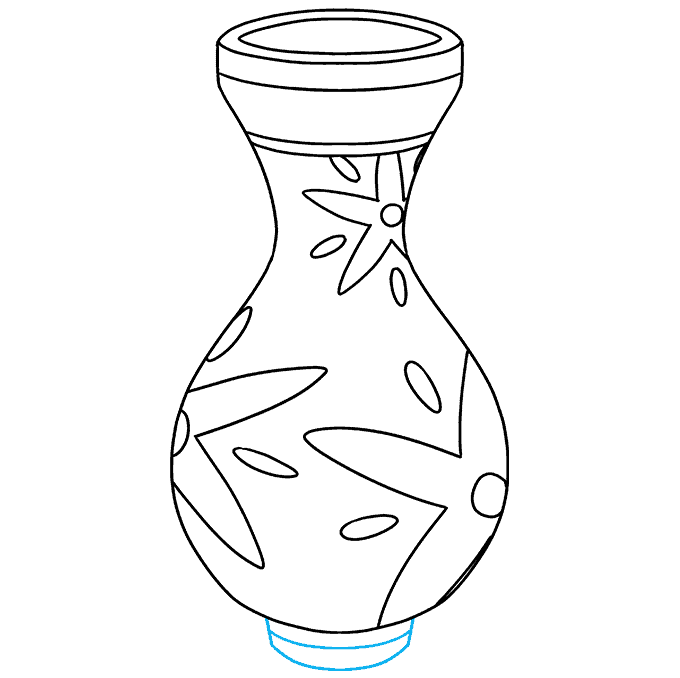 How to Draw Vase: Step 9