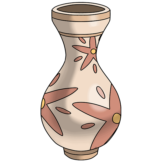 How to Draw Vase: Step 10