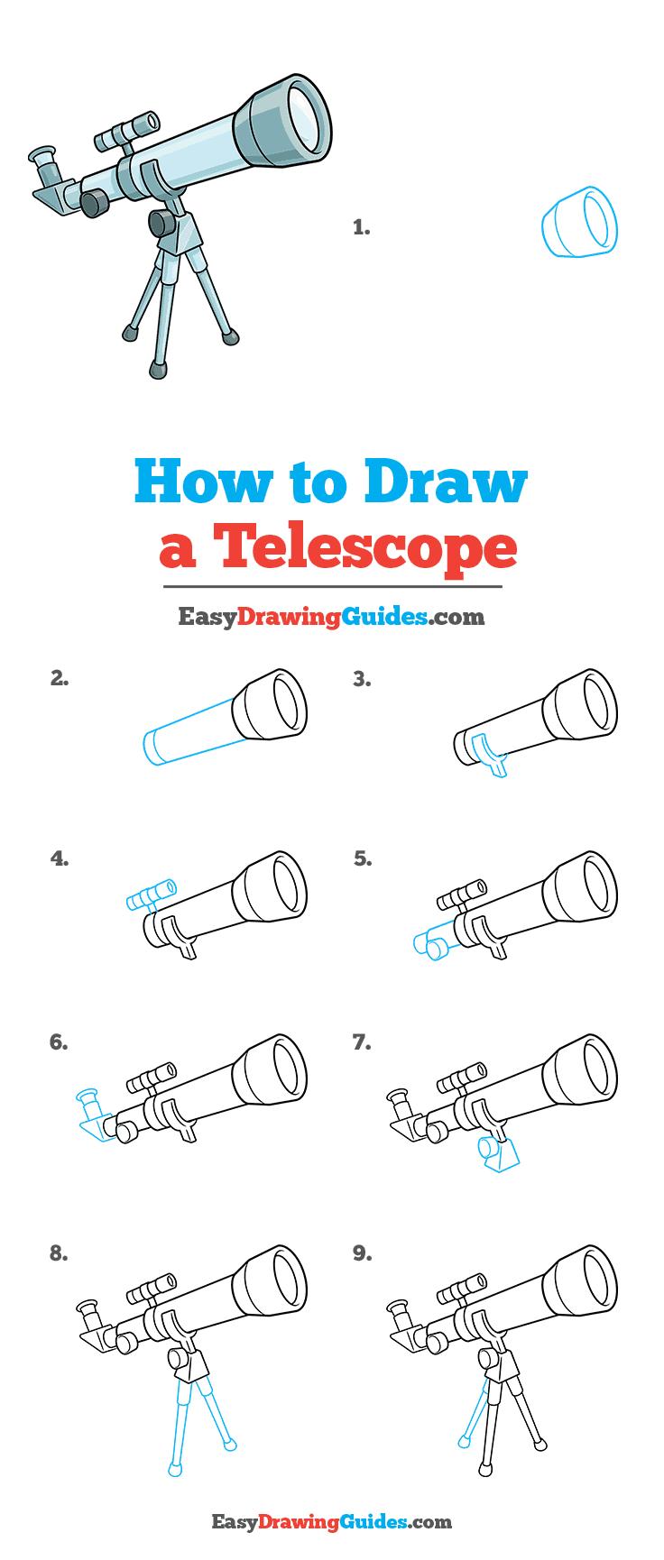 How to Draw Telescope
