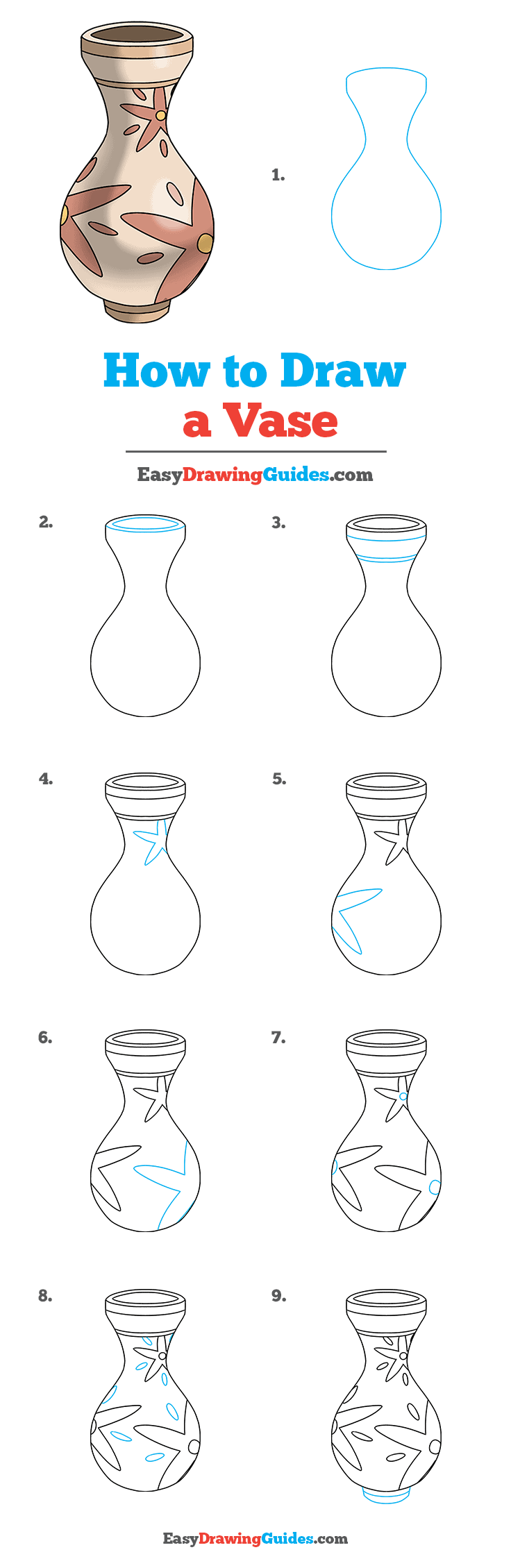 How to Draw Vase