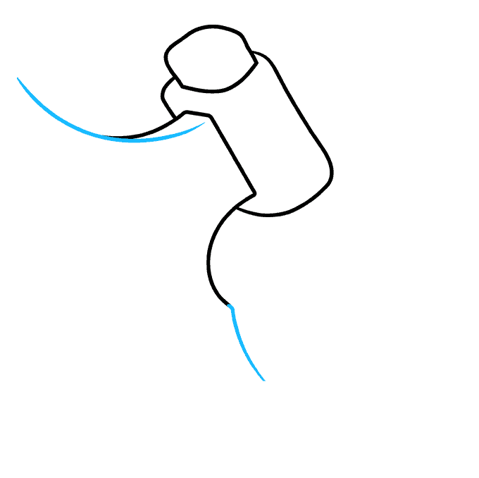 How to Draw an Axe Step 04