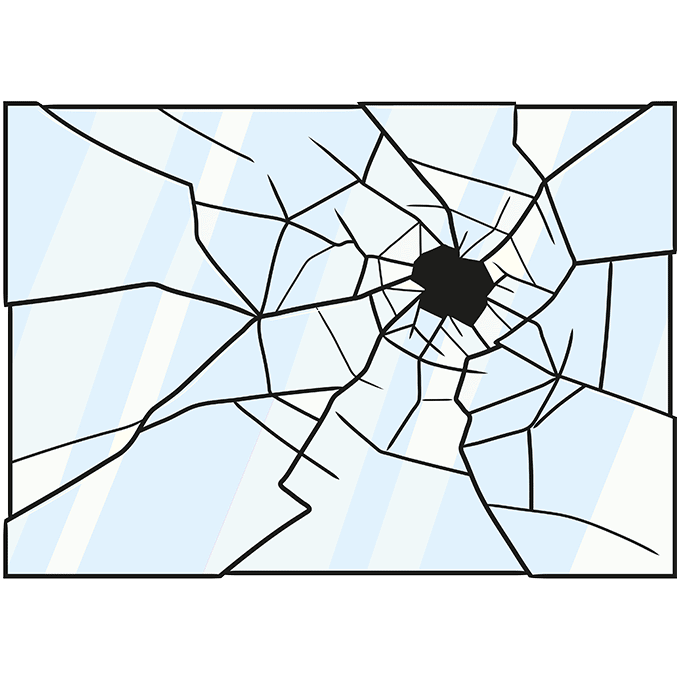 How to Draw Broken Glass: Step 10