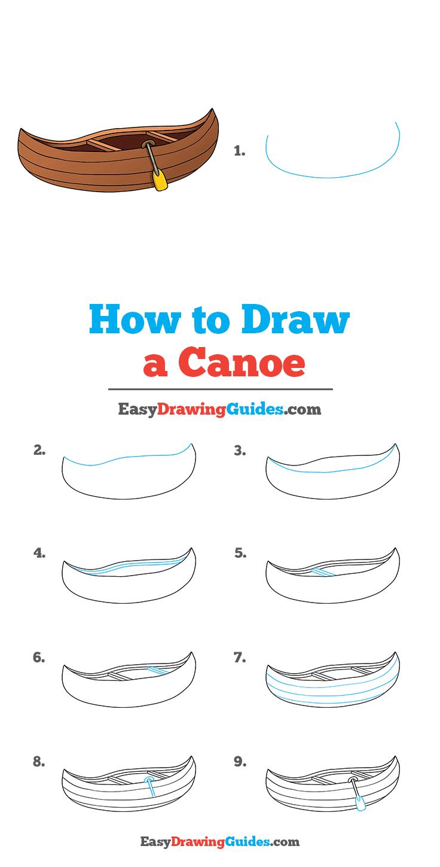 How to Draw Canoe