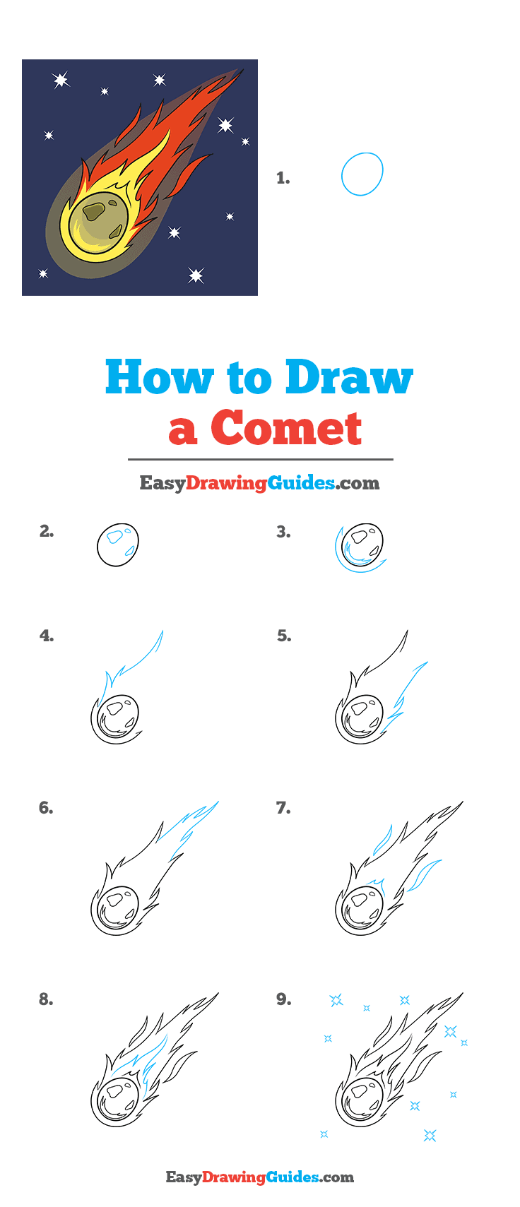How to Draw Comet