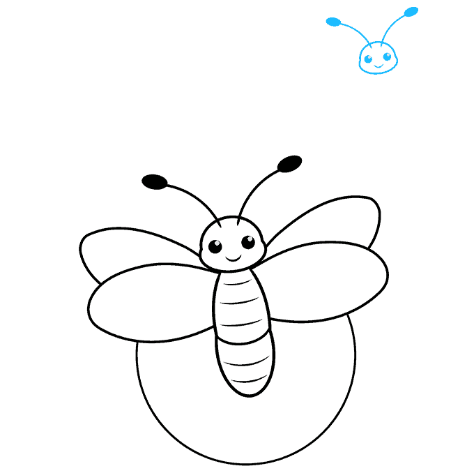 How to Draw a Firefly Step 05