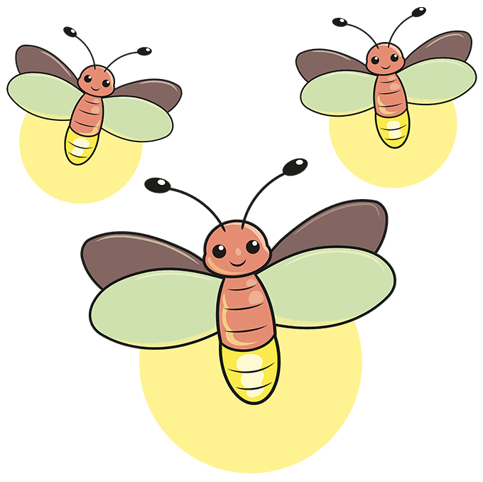 How to Draw a Firefly Step 10