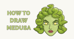 How to Draw Medusa Featured Image