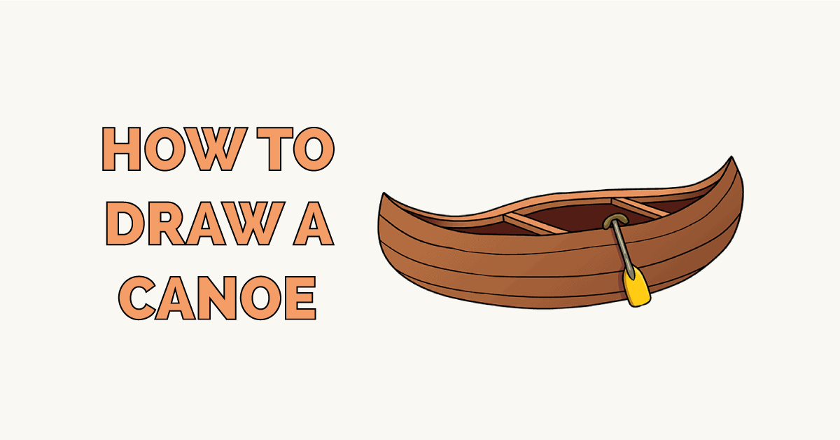 How to Draw a Canoe Featured Image