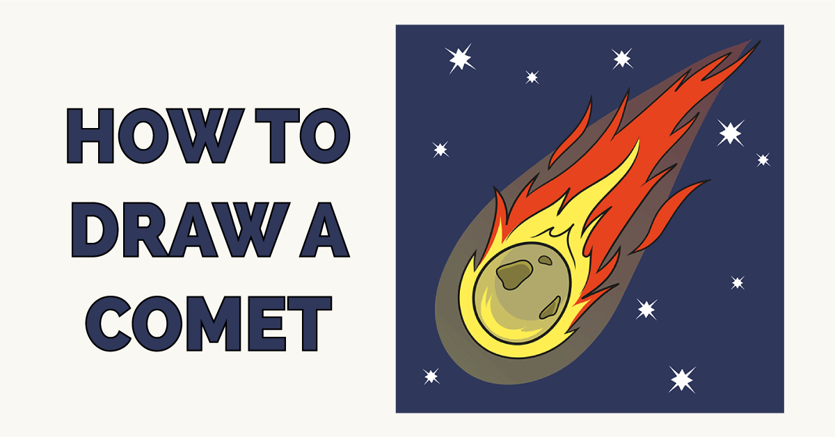 How to Draw a Comet Featured Image