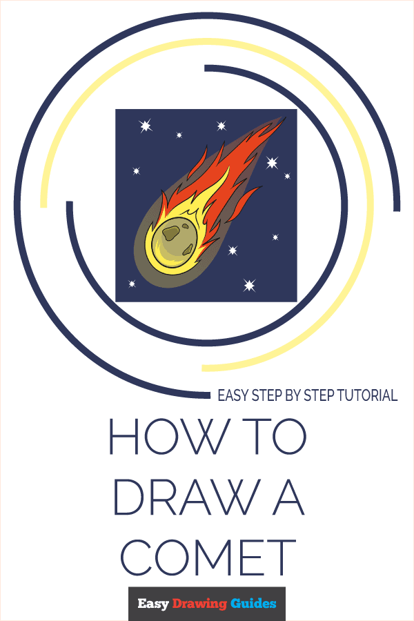 How to Draw Comet | Share to Pinterest