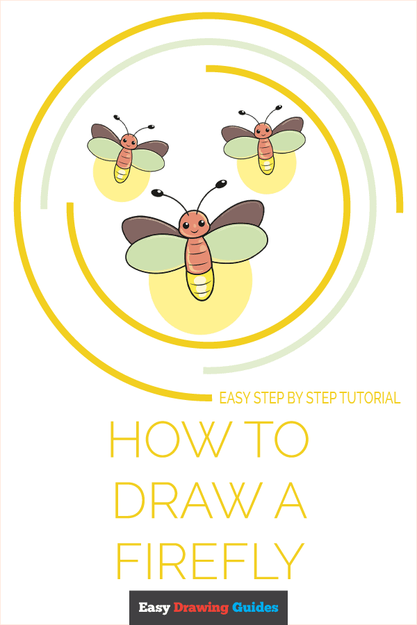 How to Draw a Firefly Pinterest Image