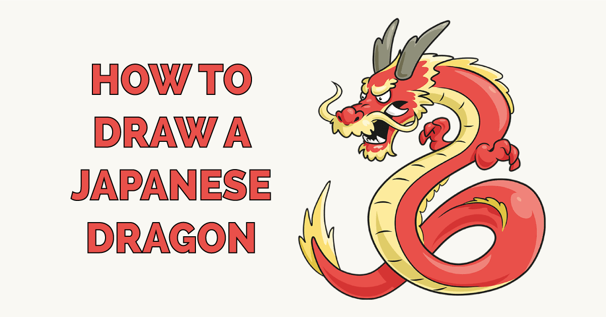 How to Draw a Japanese Dragon Featured Image