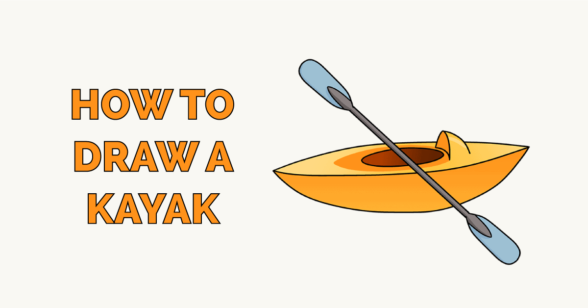 How to Draw a Kayak Featured Image