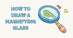 How to Draw a Magnifying Glass Featured Image