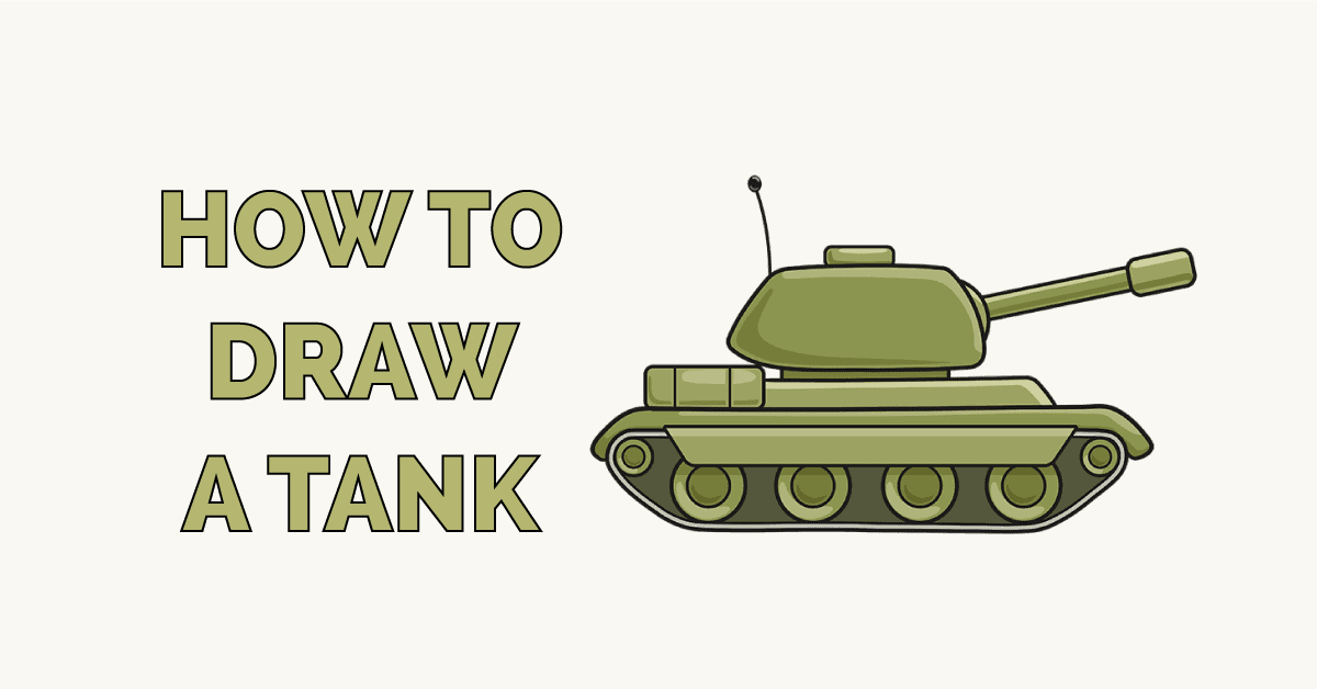 How to Draw a Tank Featured Image