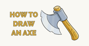How to Draw an Axe Featured Image