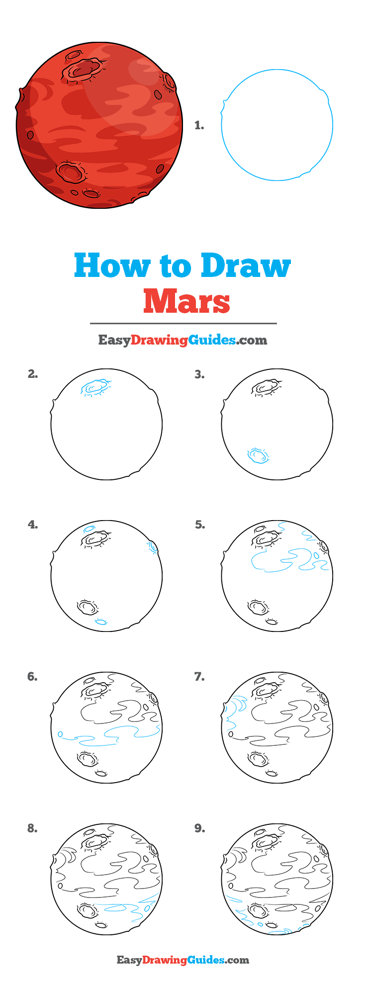 How to Draw Mars