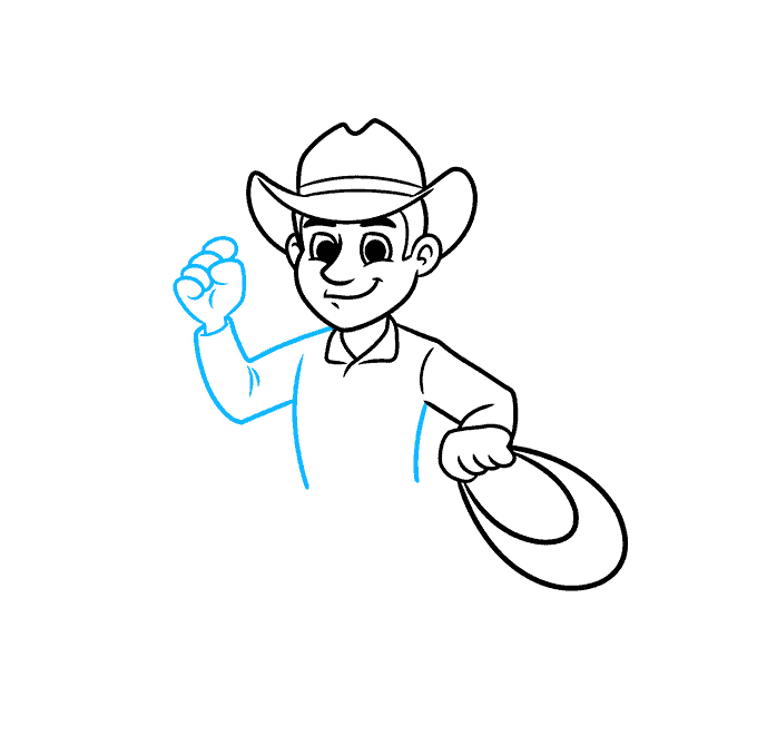 How to Draw a Cowboy Step 05