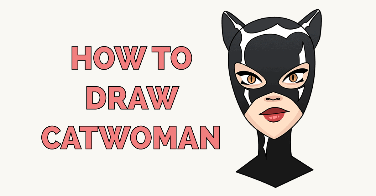 How to Draw Catwoman Featured Image