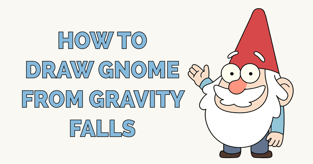 How to Draw Gnome from Gravity Falls Featured Image