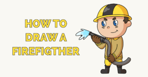 How to Draw a Firefighter Featured Image