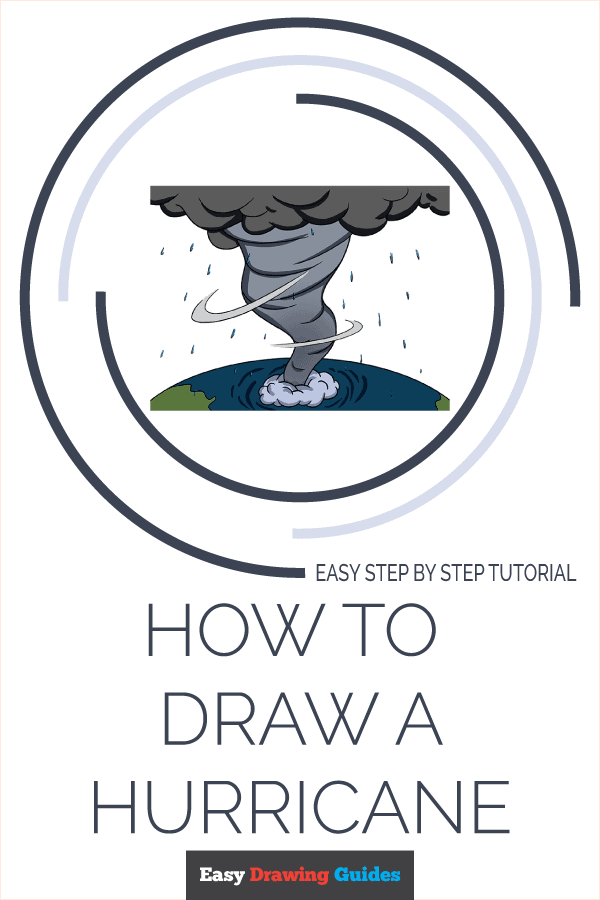 How to Draw Hurricane | Share to Pinterest
