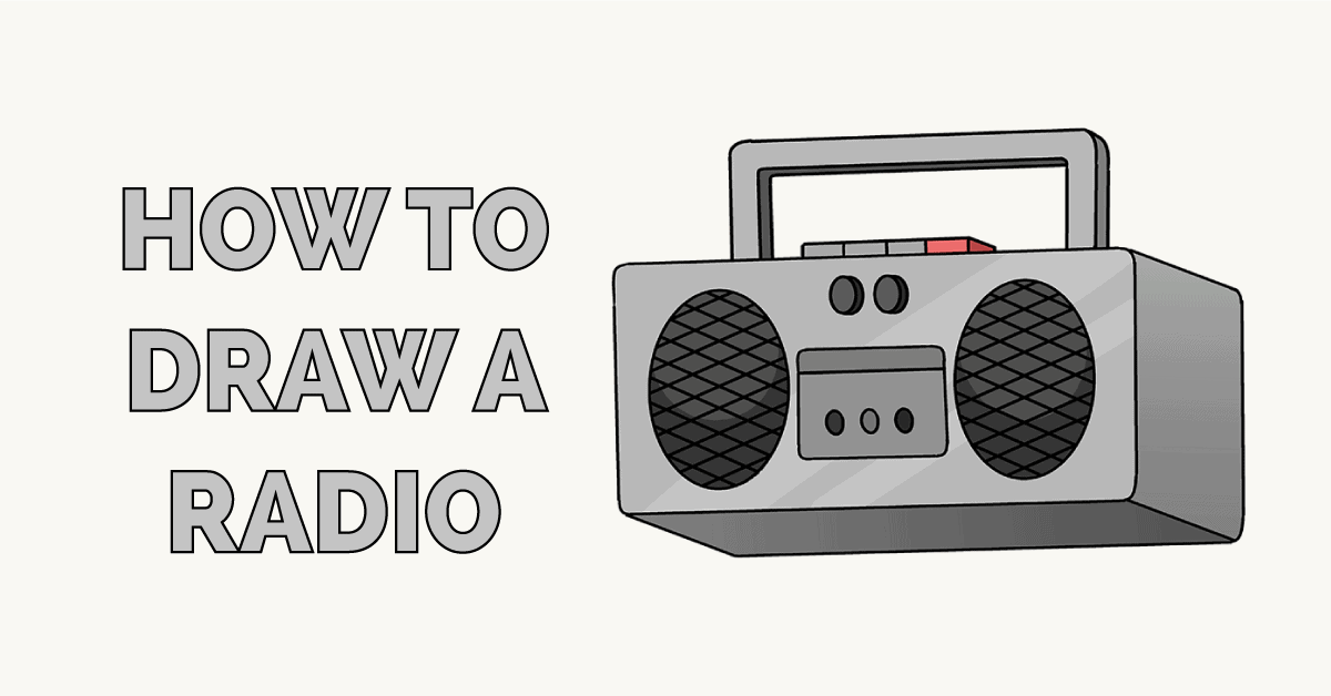 How to Draw a Radio Featured Image