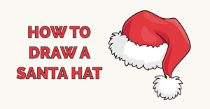 How to Draw a Santa Hat Featured Image