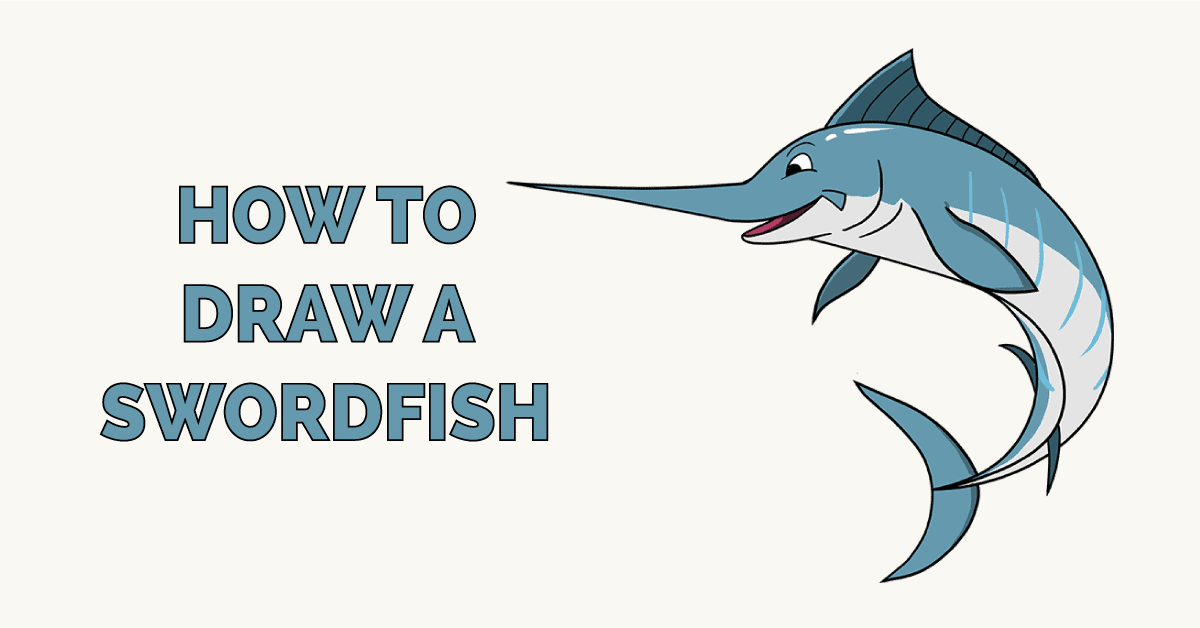 How to Draw a Swordfish Featured Image