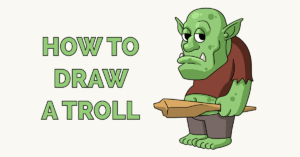 How to Draw a Troll Featured Image