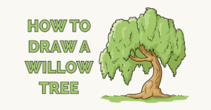 How to Draw a Willow Tree Featured Image