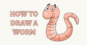 How to Draw a Worm Featured Image