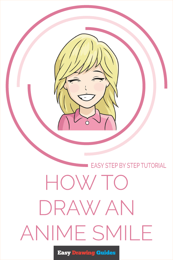 How to Draw Anime Smile | Share to Pinterest