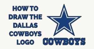 How to Draw the Dallas Cowboys Logo Featured Image