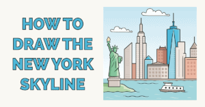 How to Draw the New York Skyline Featured Image