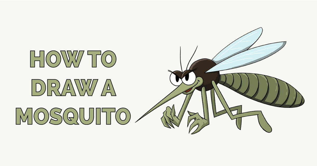 How to Draw a Mosquito Featured Image