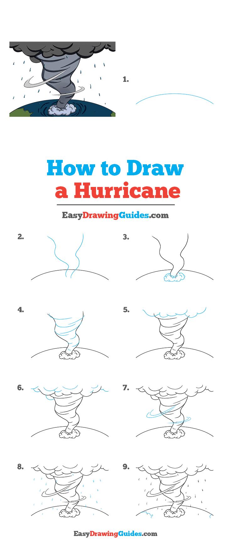 How to Draw Hurricane