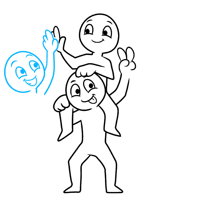 How to Draw the Squad Step 06