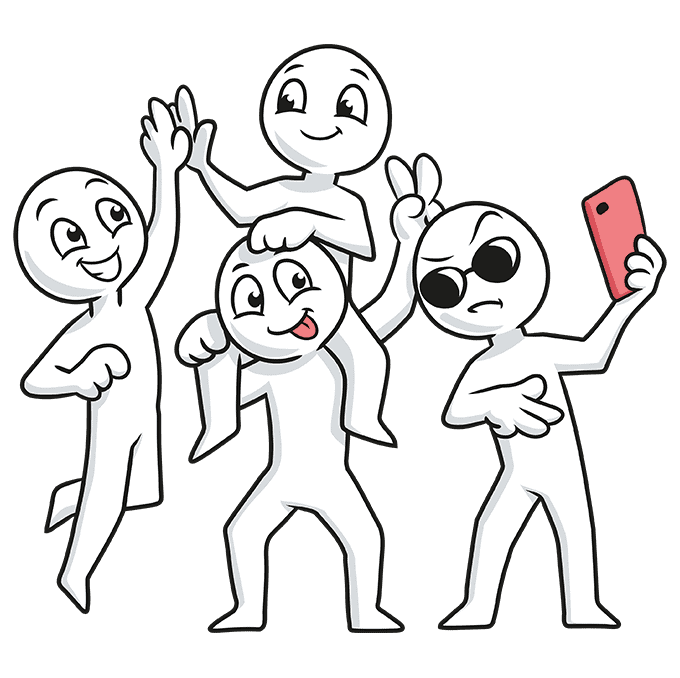 How to Draw Squad: Step 10