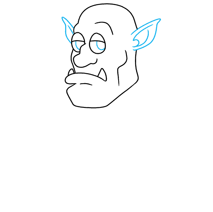 How to Draw a Troll Step 05