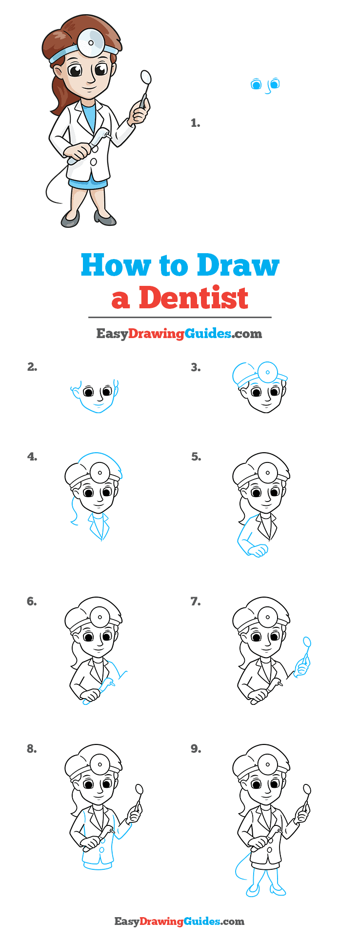 How to Draw Dentist