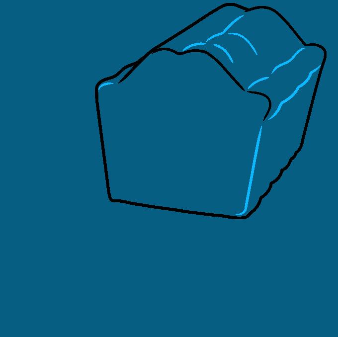 How to Draw a Fruitcake Step 03