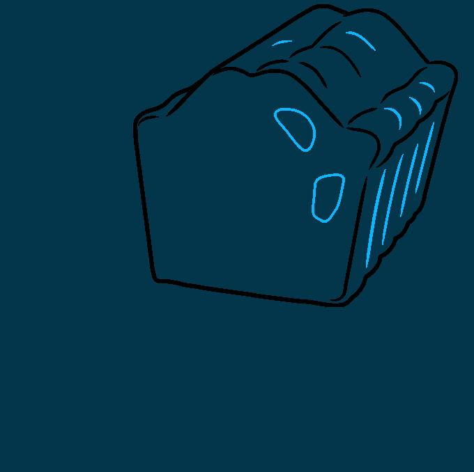 How to Draw a Fruitcake Step 04