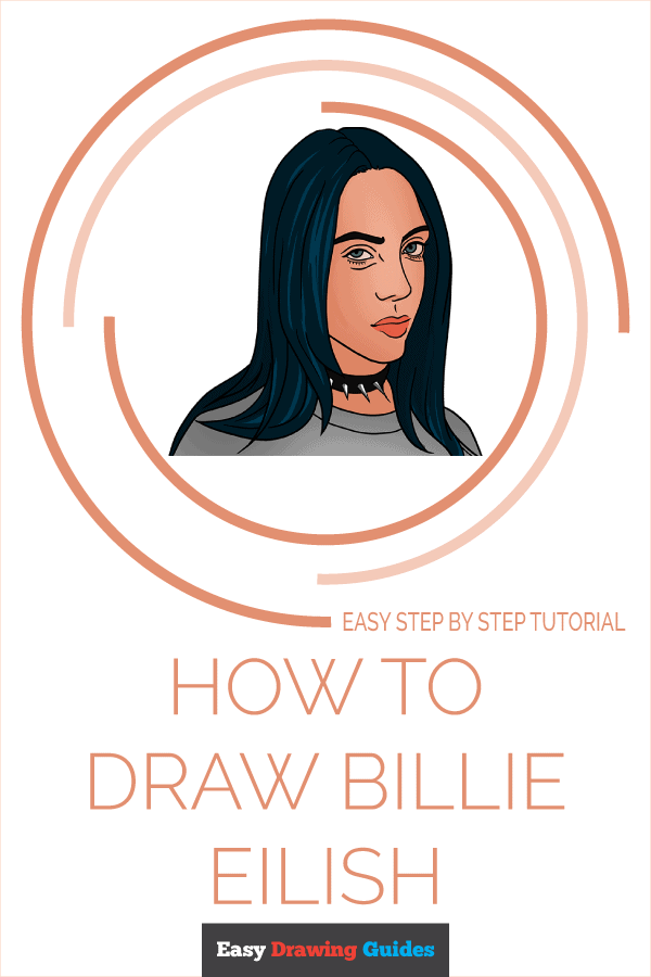 How to Draw Billie Eilish | Share to Pinterest